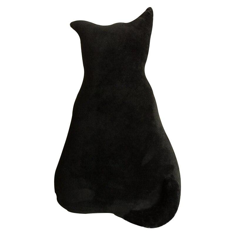 1pc 45cm Moda e butë Back Back Seat Cat Shadow Sofa jastëk jastëk - Lodra prej pelushi - Foto 4