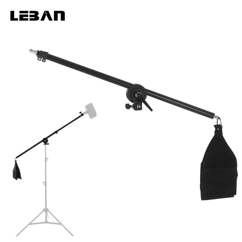 Longest 135cm Photo Studio Kit Dome Light Stand 70 -135CM Light Stand Cross Arm
