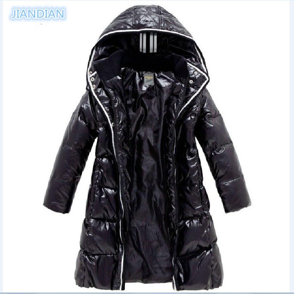 ФОТО Top quality NEW 2014 Fashion Balabala Girls Winter Coat female children down jacket medium-long thick medium-large down coat