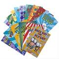 15 книг/набор Fly Guy набор английские фонетические книги для картин я могу читать Детские истории книга для раннего образования карманная книг...
