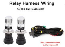 HID Headlight Wire Accessories HID Hi Lo Bi Xenon Relay Harness Wiring Controller for HID Car_220x220 headlight relay harness promotion shop for promotional headlight  at aneh.co