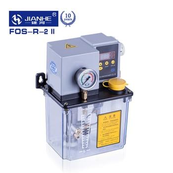 FOS 2D/2R/3D/3R Digital ze sterownikiem automatyczna pompa smarownicza 220V do młyna, dziurkacza, szlifierki, wiertarki, obrabiarka sterowana komputerowo 2L/3L