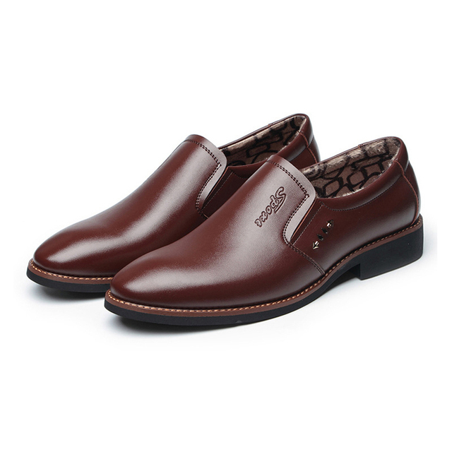 Leather Office Dress Shoes 8