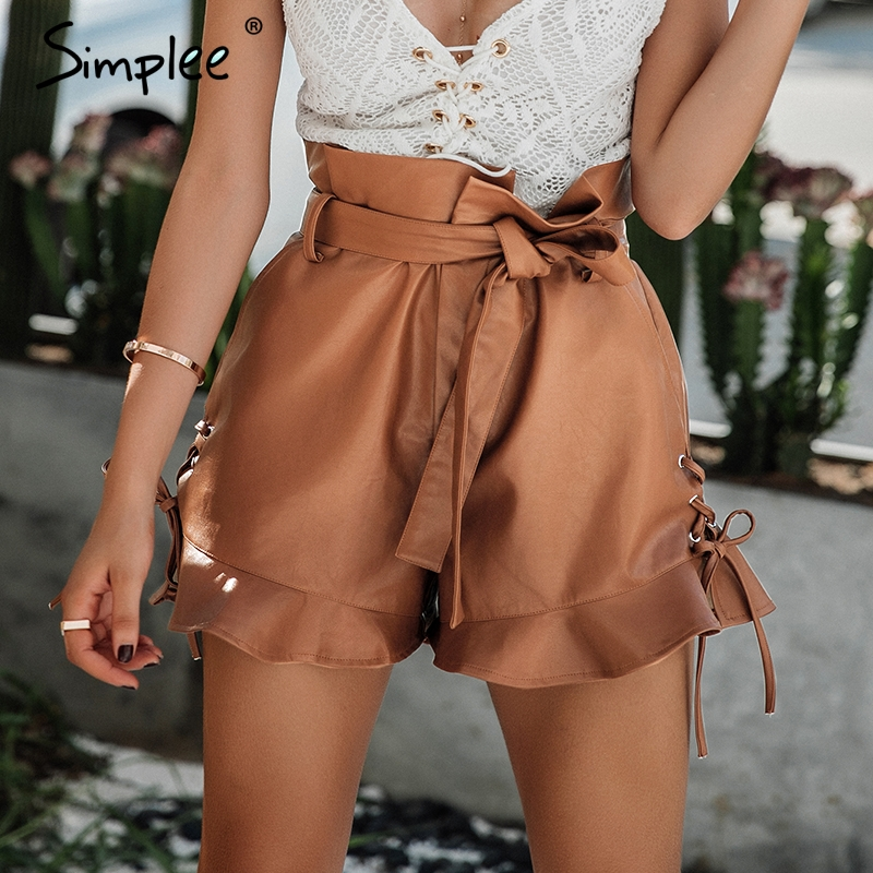Free shipping Faux Leather Lace Up Shorts BLACK M under $ in Shorts online store. Best Leather Jumpsuit Online and Lace Top And Skirt Online for sale at gusajigadexe.cf
