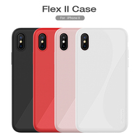 For IPhone X Case Nillkin Liquid Silicone Frosted Shield Hard Plastic Back Cover Case For Apple
