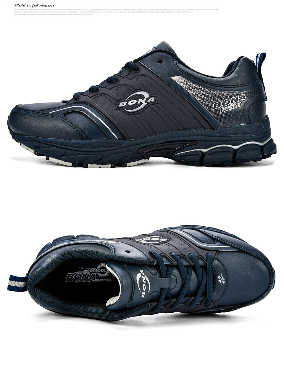 BONA Men Casual Shoes Microfiber Man Flats Lace Up Breathable Men Fashion Classic Outdoor Shoes Zapatos De Hombre Free Shipping