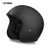 Hot Vintage Helmet Motorcycle Soft Open Face Kind Design Lightweight Helmet For Motorcycle Cruiser