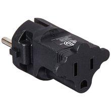 Germany, France CEE7/7 Travel Power Plug Adapter Accepts NEMA 5-15R - ETL Certified - Industrial Grade (IG-9) цена в Москве и Питере