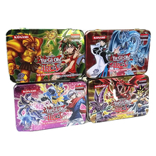 41pcs /Set With Box Yugioh Game Paper Cards Toys Girl Boy Yu Gi Oh Game Collection Card Christmas Gift Brinquedo Toy