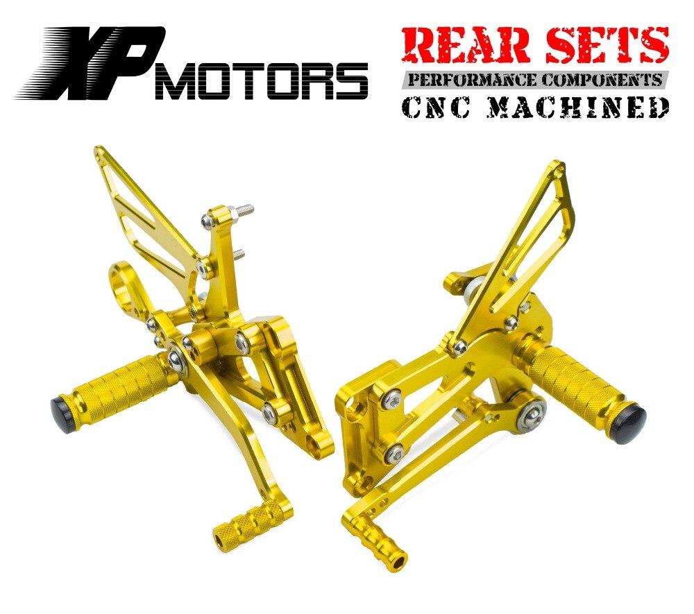 NICECNC 1 Set montage pour siège arrière de course moto en aluminium repose-pieds arrière repose-pieds Kit pour BMW S1000RR S 1000RR S 1000 RR 2009 2010-2013 2014