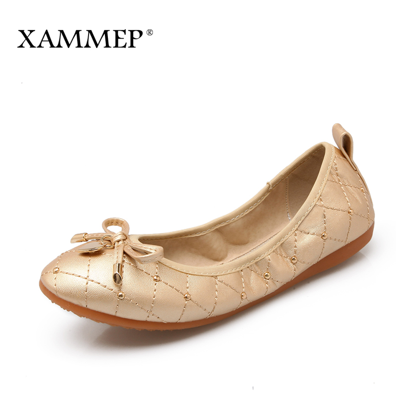 Xammep Women Flats Brand Women Shoes Plus Big Size Women Sneakers Soft Comfortable Round Toe Spring Autumn Female Casual Shoes spring summer flock women flats shoes female round toe casual shoes lady slip on loafers shoes plus size 40 41 42 43 gh8