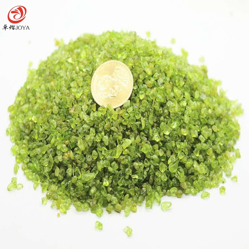 50g Wholesale Natural Stone Chip Raw Peridot Rock Sandstone Crystal Beads 3~8mm For Jewelry Making Education Teaching Diy Lol Beads