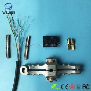 Image 2 - 3 ชิ้น/ล็อตชุดเครื่องมือ FTTH ไฟเบอร์ชุดเครื่องมือ SI 01 Stripper/หลวมสาย Jacket Slitter/ขวางเปิดมีด