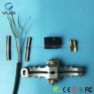 Image 2 - 3 teile/los FTTH Tool Kit Faser Werkzeug Set SI 01 Stripper/Lose Rohr Kabel Jacke Schneider/Quer Öffnung Messer