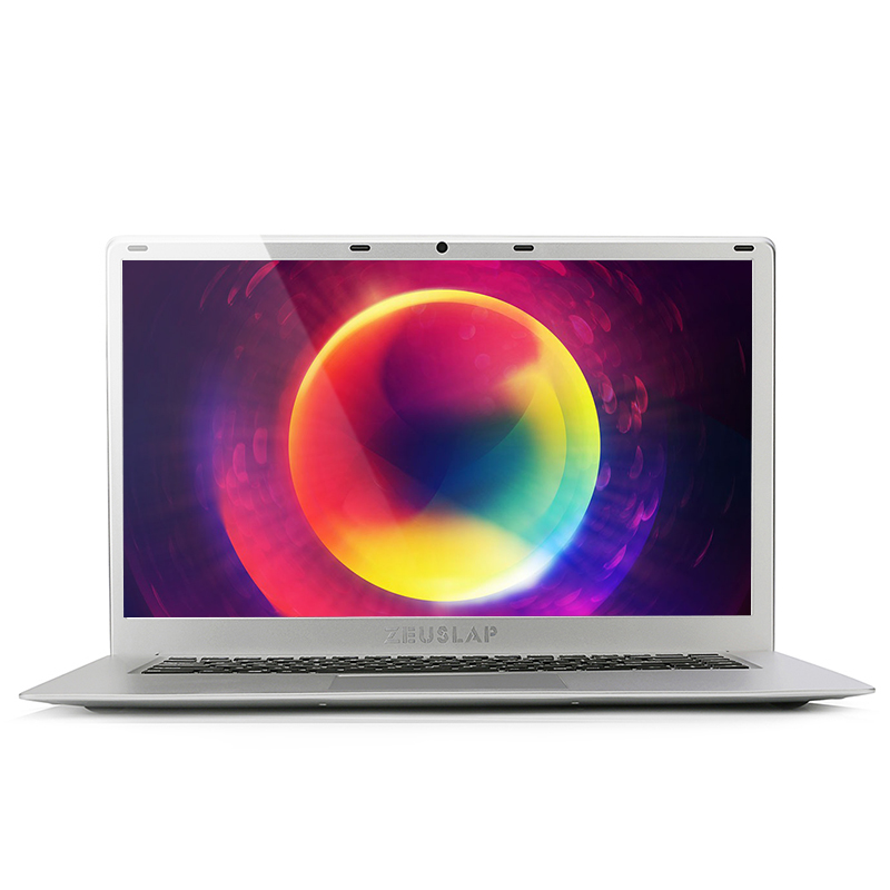ZEUSLAP-15.6inch Laptop Ultrathin 8GB RAM 2000 GB HDD Intel Quad Core CPU 1920X1080P Full HD Fast Run Laptop Notebook Computer
