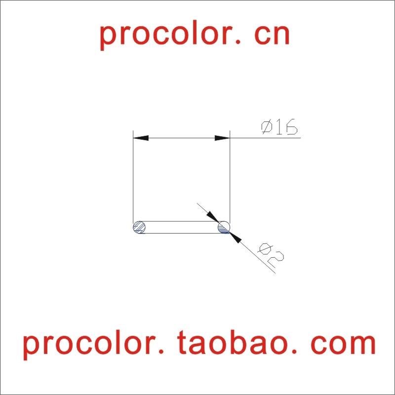 Силиконовые резиновое кольцо уплотнительное кольцо сальник прокладка шайба, произвести все виды спецификации вообще весы Размеры 16 мм * c/...