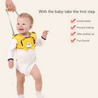 Kids Safety Harness For Baby Walker Reinforced Basket Type Learning Belt kinder tuigje Leash for children toddler to walk