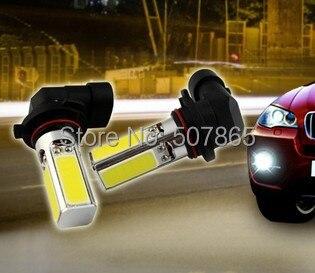 2 x Car H11 / HB4 9006 / HB3 9005 / H7 / 880 / 881 1156 7440 New COB LED Headlight Fog Light Lamp Bulb Pure White