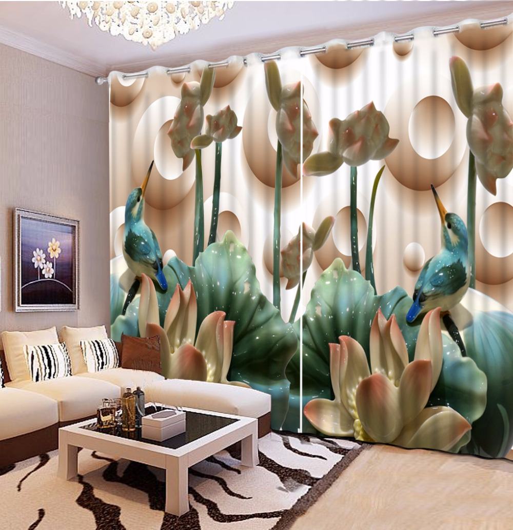 customize curtains Flower for Any room window decorative durable 3d cortinascustomize curtains Flower for Any room window decorative durable 3d cortinas