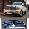 ABS Tipo A Styling Chrome Racing Grille Para Dodge Ram 1500 2012-2015