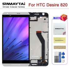 100% Test For HTC Desire 820 LCD Touch Screen For HTC Desire 820 Display Digitizer Assembly Replacement Parts