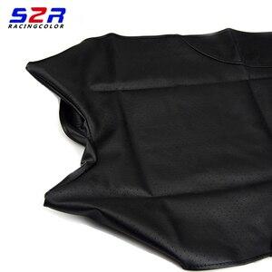 Image 2 - S2 r غطاء مقعد الدراجة النارية لياماها YBR125 YS150 YBR YB 125 YS150 العالمي سكوتر وسادة جلدية