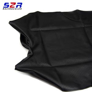 Image 2 - S2R אופנוע מושב כיסוי עבור ימאהה YBR125 YS150 YBR YB 125 YS150 אוניברסלי קטנוע כרית עור מקרה