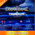 God of Game Pandora 900 in 1 Game PCB 900in1 VGA output HD only for LED