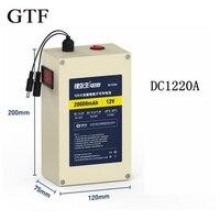 GTF высокое Ёмкость DC12V 20000 mAh Перезаряжаемые литий ионный аккумулятор с светодиодный дисплей для большинства электронных продуктов