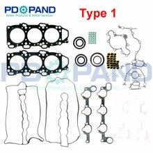 مجموعة حشية إعادة بناء المحرك 8DHW 10 271 لمازدا لوسي III HC MPV I/LV 929 IV HD 3.0 V6 24V 2954cc