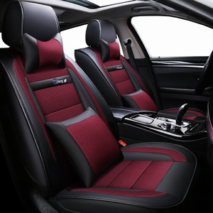 Image 2 - New Luxury leather Universal car seat cover for suzuki sx4 Swift Grand Vitara Jimini KIZASHI Alivio dodge caliber Avenger polo