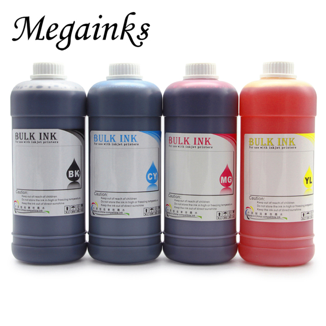 US $19 86 8% OFF|500ML Dye Pigment Sublimation Ink for Epson P50 T50/60  L100 L110 L120 L210 L220 L355 L310 L800 L805 L1800 1390 1400 1410  Printer-in