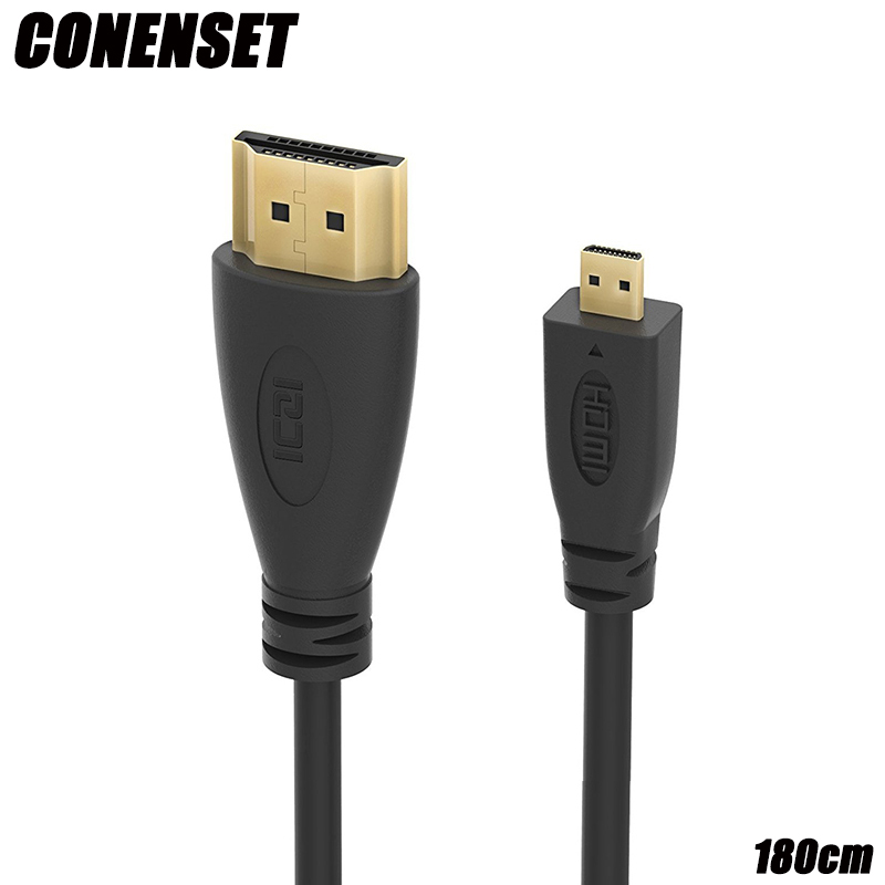 все цены на 1.8m HDMI 1080P AV HD TV Video Cable for Lenovo Yoga 2 Yoga 3 Pro Laptop HDMI Micro to HDMI TV 1.8m Long Wire Lead Cable онлайн