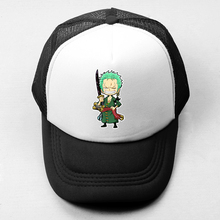 Anime One Piece Zoro Baseball Cap font b Men b font Women Girl Boy Snapback Cap