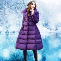 Winter Jacket Women 2018 New Winter Warm Praka Jacket Women Long Paragraph Slim Large S Women's Coat Jacket Z344