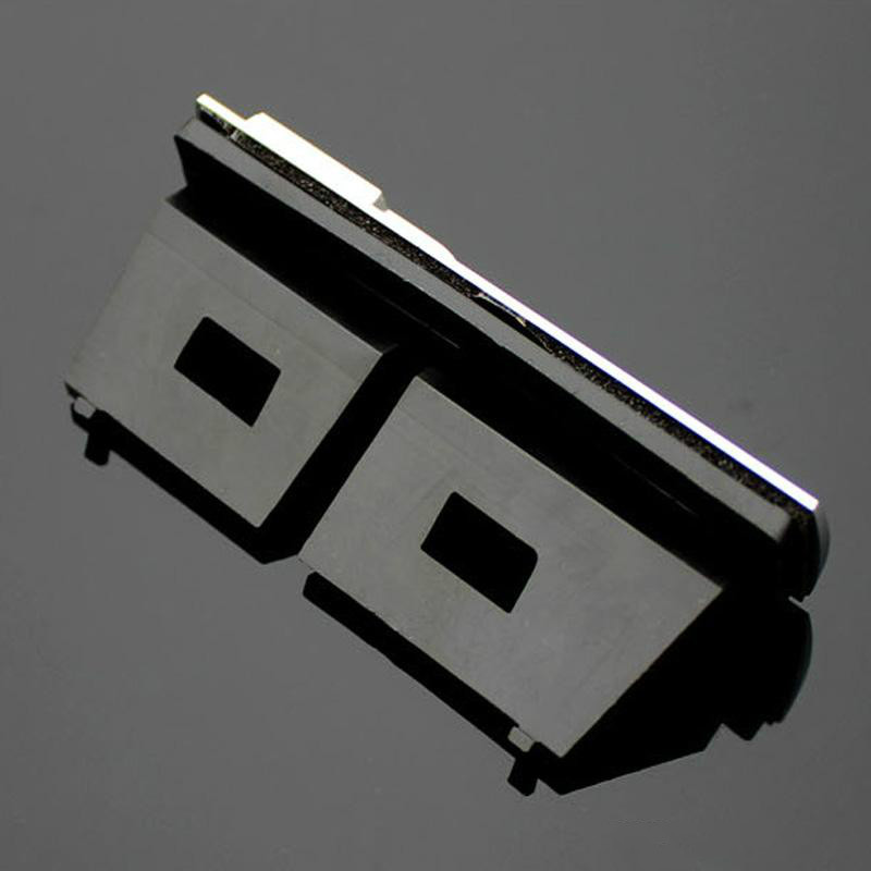 Matte Silver Metal Emblem Badge Front Grill Mount Bracket S Line For Audi A7 A8