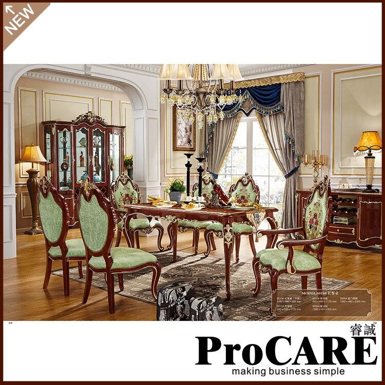 Лидер продаж, деревянный обеденный стол с 6 стульями