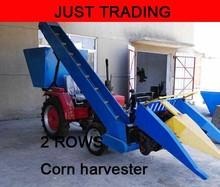 Farm working machine,2 rows combined corn harvester machine,harvesting machine(China (Mainland))
