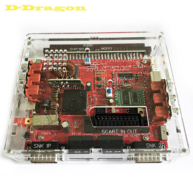 Super Gun JAMMA <font><b>CBOX</b></font> Converter Board to SNK D15P Joypad & Saturn Gamepad for Any JAMMA PCB Pandora Box <font><b>MVS</b></font> Motherboard image