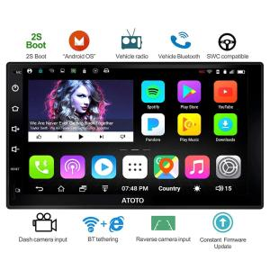 ATOTO A6 Double din Android Car GPS Navi
