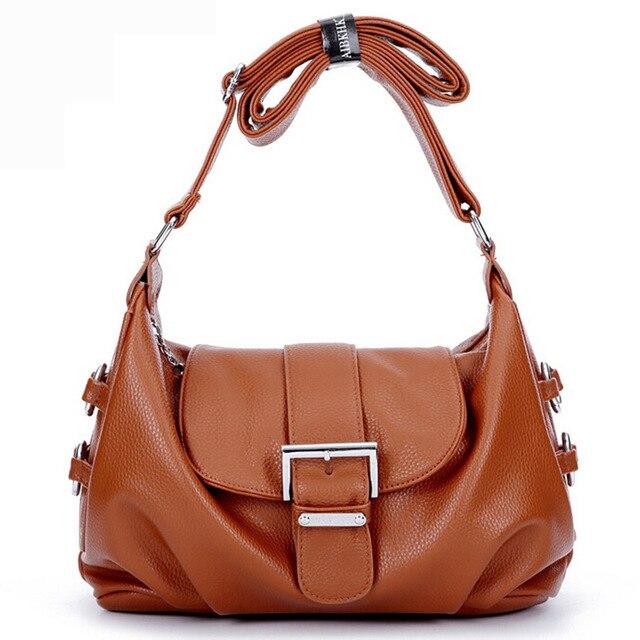 Casual sacos Novos para as mulheres bolsa feminina ombros sacos famosas bolsas de marca e bolsas saco de couro das mulheres