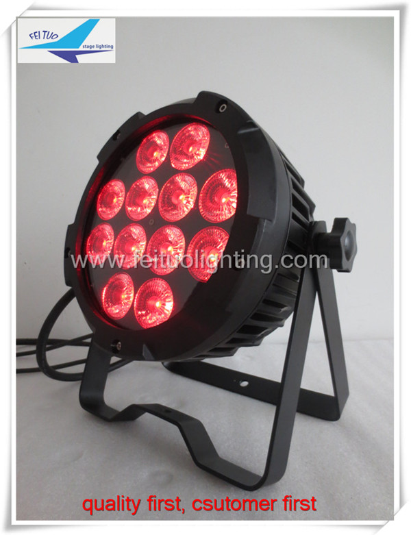 A- 48light with road case 12x18w rgbwa uv 6in1 outdoor IP 65 PAR led fixture