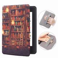 Funda inteligente con soporte de muñeca para Amazon Kindle Paperwhite 4 funda magnética con tapa para Kindle Paperwhite de 10 generación 2018