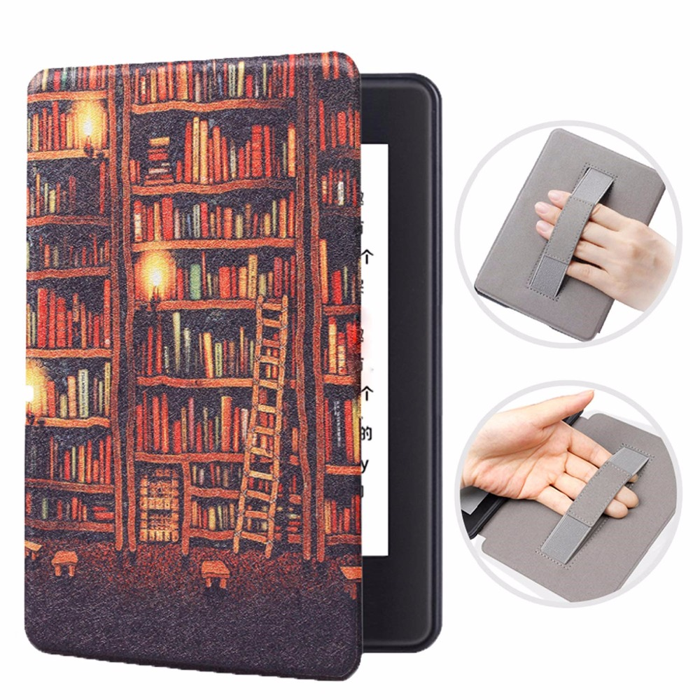 Wrist Rest Smart Case For New Amazon Kindle Paperwhite 4 Magnetic Flip Hand Cover For Kindle Paperwhite 10th Generation 2018