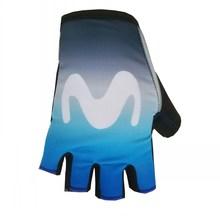 цена на Pro tour team blue M Cycling gloves GEL shock absorption high quality summer half finger Bike Guante Size m-XL