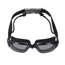 Swim Goggles Cap Nose Clip Adult Men Women UV Protection Anti Fog Technology Set