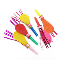 Set of 50 Balloon Blowout Party Noisemakers
