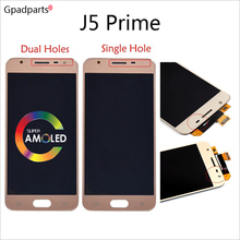 5inch ORiginal AMOLED LCD For Samsung J5 Prime LCD On5 2016 G570F/DS G570M Display touch screen assembly
