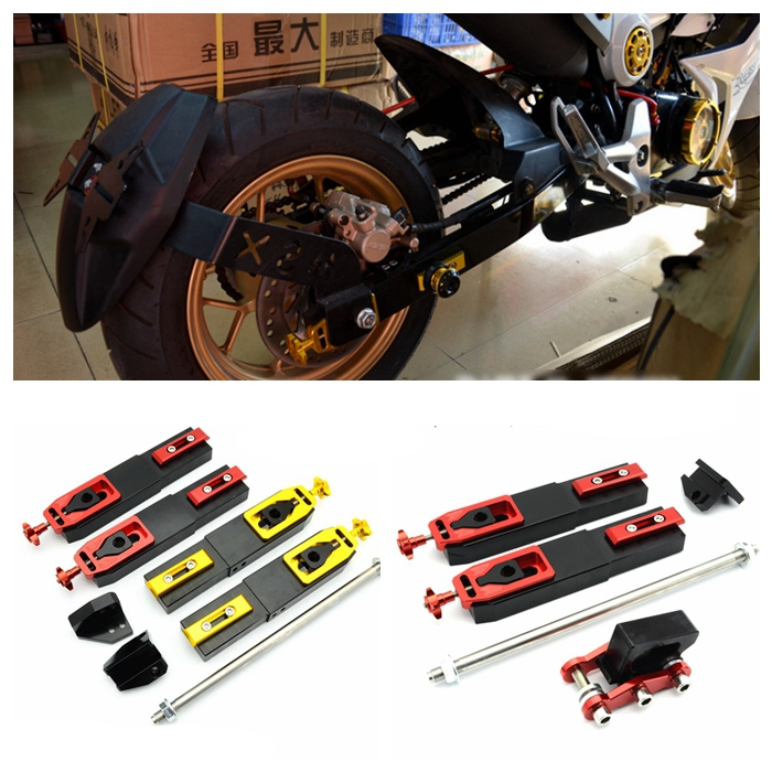 For Honda Grom MSX125 Motorcycle Accessories modified CNC Aluminum Rear Fork extension device increased control shifter in shock