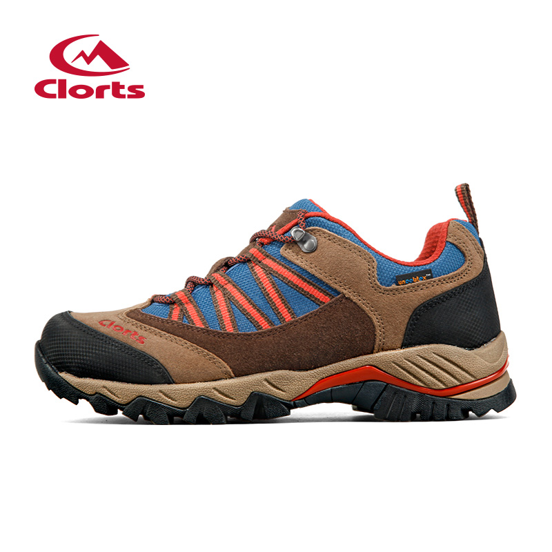 2016 Clorts Men Hiking Boots HKL-831 Anti-bacterial EVA Insole Hiking Shoes Low Cut Outdoor Trekking Sneakers for Men